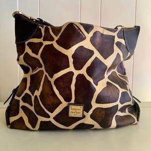 🦒 Dooney and Burke Giraffe Tote Purse